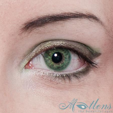 farbige kontaktlinsen gr n green color lens circle lens. Black Bedroom Furniture Sets. Home Design Ideas
